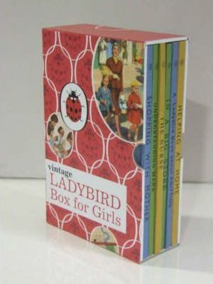 Vintage Ladybird Box for Girls