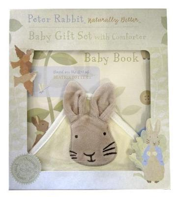 Peter Rabbit Naturally Better Baby Book and Comforter