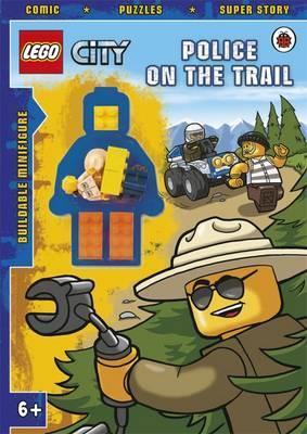 LEGO CITY: Police on the Trail Activity Book with Minifigure