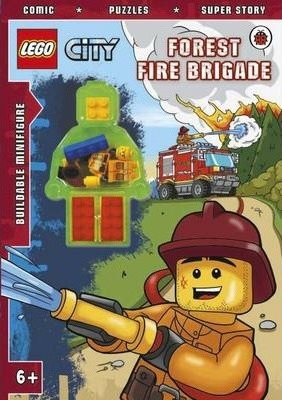LEGO CITY: Forest Fire Brigade Activity Book with Minifigure