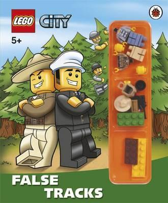 LEGO City: False Tracks Storybook with Minifigures and Accessories
