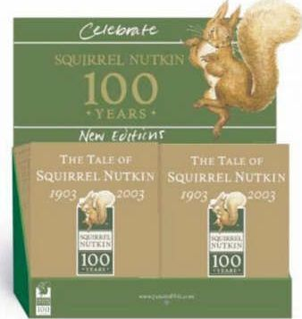 Squirrel Nutkin Centenary (10-Copy) Counterpack