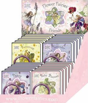 Flower Fairies Friends Bangle Counterpack (24 Copy): 24 copies