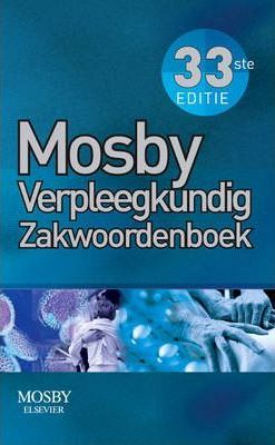 Mosby Nurse's Pocket Dictionary - Dutch Edition