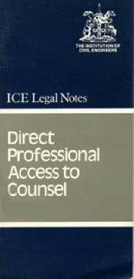 Direct Professional Access to Counsel