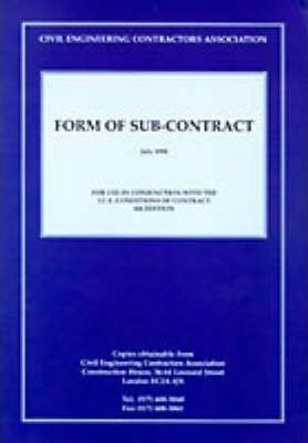 CECA Form of Sub-contract
