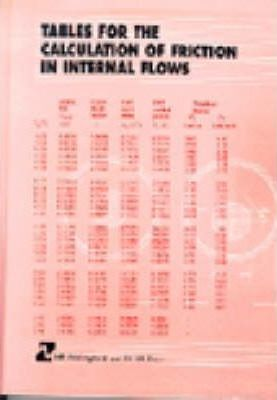 Tables for the Calculation of Resistance in Internal Flows (HR Wallingford titles)