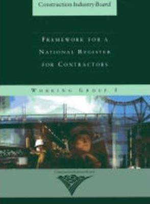 Framework for a National Register for Contractors