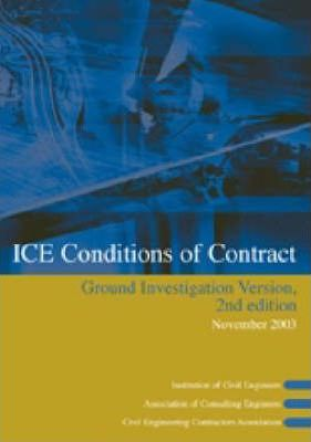 ICE Conditions of Contract Ground Investigation Version