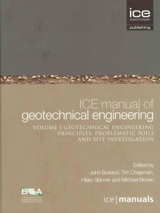 ice manual of geotechnical engineering tim chapman 9780727736529 rh bookdepository com ice manual of geotechnical engineering free download ice manual of geotechnical engineering pdf