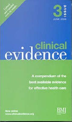 Clinical Evidence: 3rd Issue