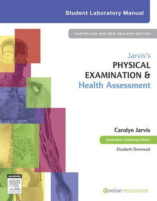 jarvis s physical examination and health assessment student lab rh bookdepository com jarvis student laboratory manual pdf Physics Laboratory Manual PDF