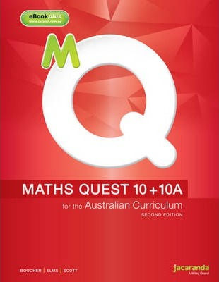 maths quest 10 for the australian curriculum pdf