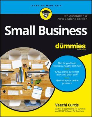 Small Business For Dummies - Australia & New Zealand Cover Image