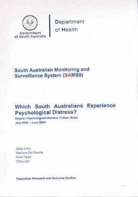 Which South Australians Experience Psychological Distress?