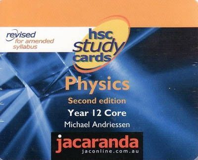 Hsc Study Cards Physics : Andriessen : 9780731400164