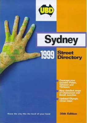 Ubd Street Directory: New South Wales - Sydney: 1999