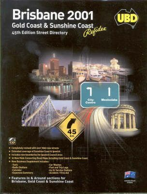Ubd Brisbane 2001 Gold Coast and Sunshine Coast