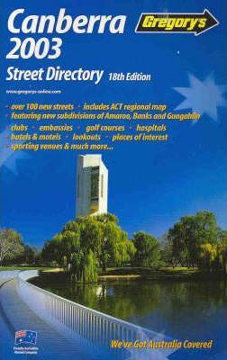 Gregory's Canberra Street Directory