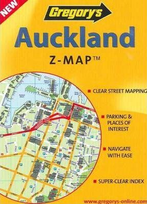 Gregorys Auckland Z-Map