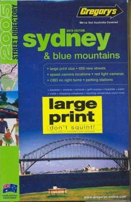 Gregory's Sydney and Blue Mountains Street Directory 2005