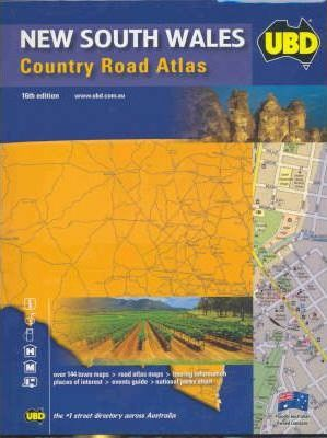 New South Wales Country Road Atlas