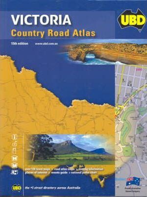 Victoria Country Road Atlas 15th