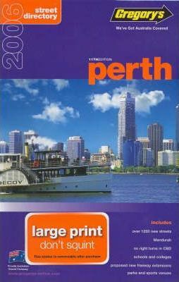 Gregory's Perth Street Directory