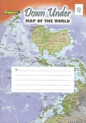 Gregorys Down Under Map of the World 161