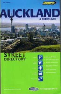 Gregory's Auckland & Surrounds Street Directory