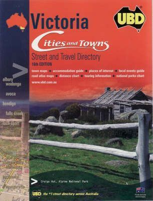 UBD Victoria Cities and Towns Street Directory