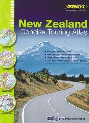 New Zealand Concise Touring Atlas