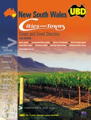 UBD NSW Cities and Towns Street Directory