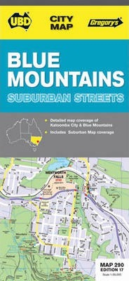 Blue Mountains Touring Map 238 4th ed