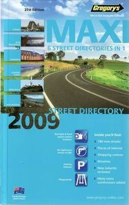 Maxi 2009 Street Directory