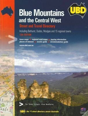 UBD Blue Mountains & Central West Street Directory