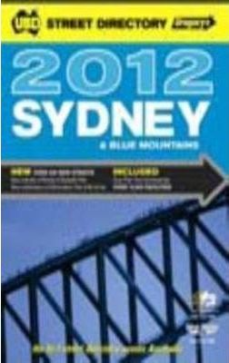 UBD Gregory's Sydney and Blue Mountains Street Directory 2012