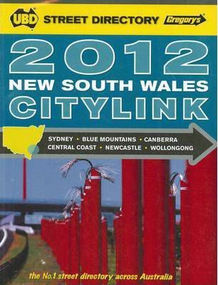 UBD City Link Directory NSW 2012