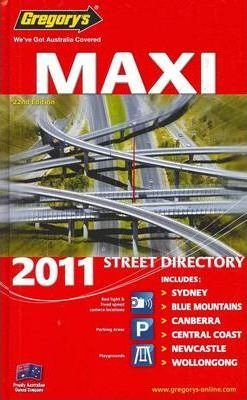 Gregory's Maxi NSW Street Directory 2011