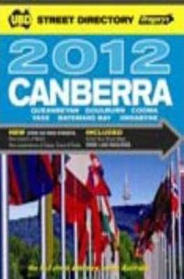 UBD Gregory's Canberra Street Directory 2012