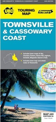 Townsville and Cassowary Coast Map 489 34th
