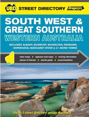 South West & Great Southern Western Australia Street Directory 6th ed