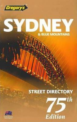 Gregory's Sydney & Blue Mountains Street Directory 75th ed