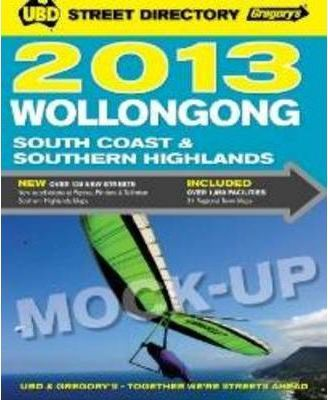 UBD Gregory's Wollongong, South Coast and Southern Highlands Street Directory