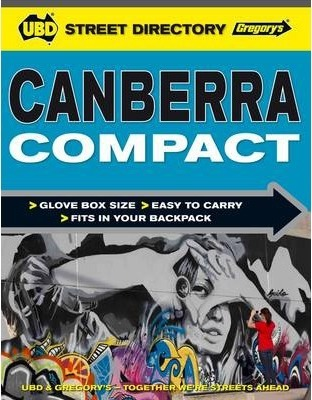 Canberra Compact Street Directory 2nd 2014