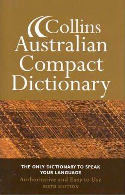 Collins Australian Compact Dictionary