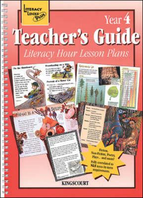 Literacy Hour Lesson Plans Year 4 Teachers' Guide