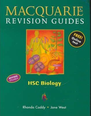 macquarie revision guide hsc biology caddy 9780732988197 rh bookdepository com Revision Icon CGP Revision Guides