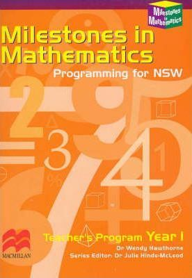 Milestones in Mathematics, Year 1