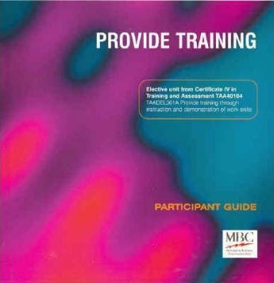 Provide Training: Participant Guide